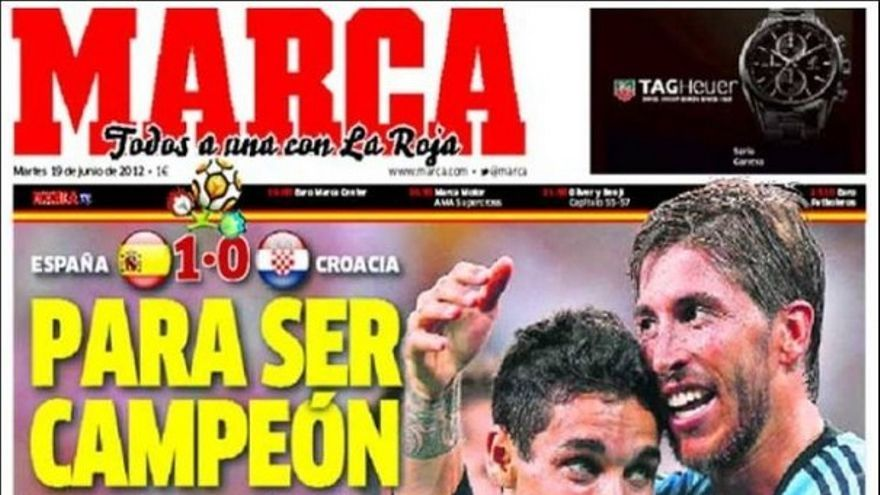 De las portadas del día (19/06/2012) #11