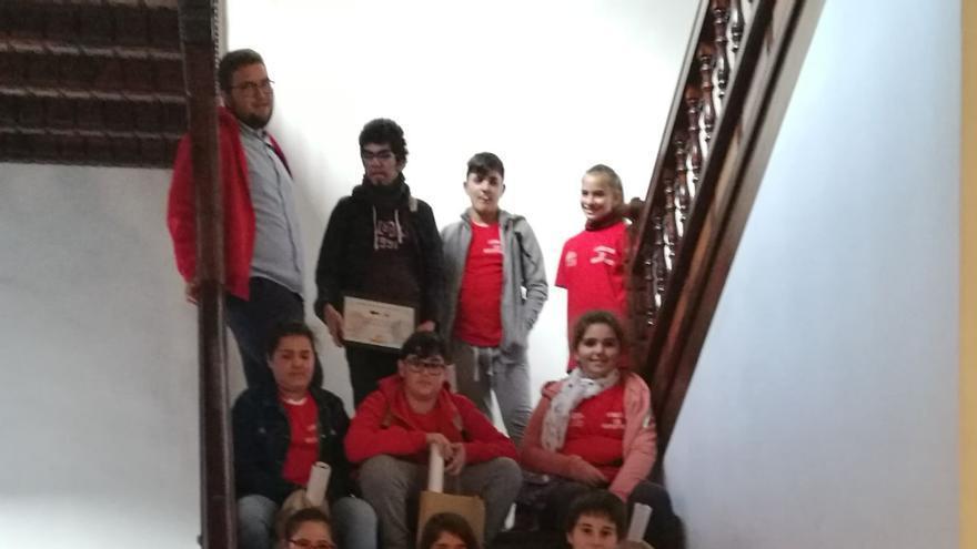Los alumnos de la Escuela de Cine Secuencia 27.