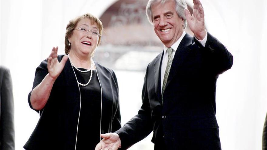 Bachelet, Vázquez y Macri abogan por acercar el Mercosur y la Alianza del Pacífico