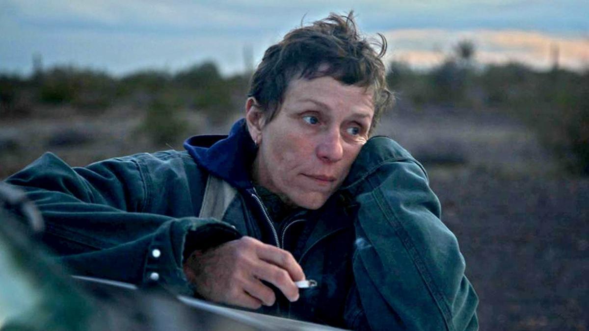 """""""Nomadland"""", con Frances McDormand, gran ganadora de los Oscar"""