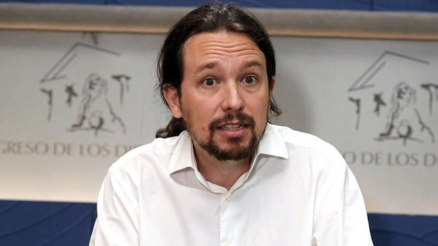 Pablo Iglesias, secretario general de Podemos. (EFE).