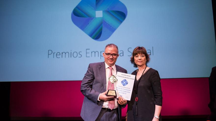 La empresa Aguas de Murcia, protagonista en los VII Premios Empresa Social