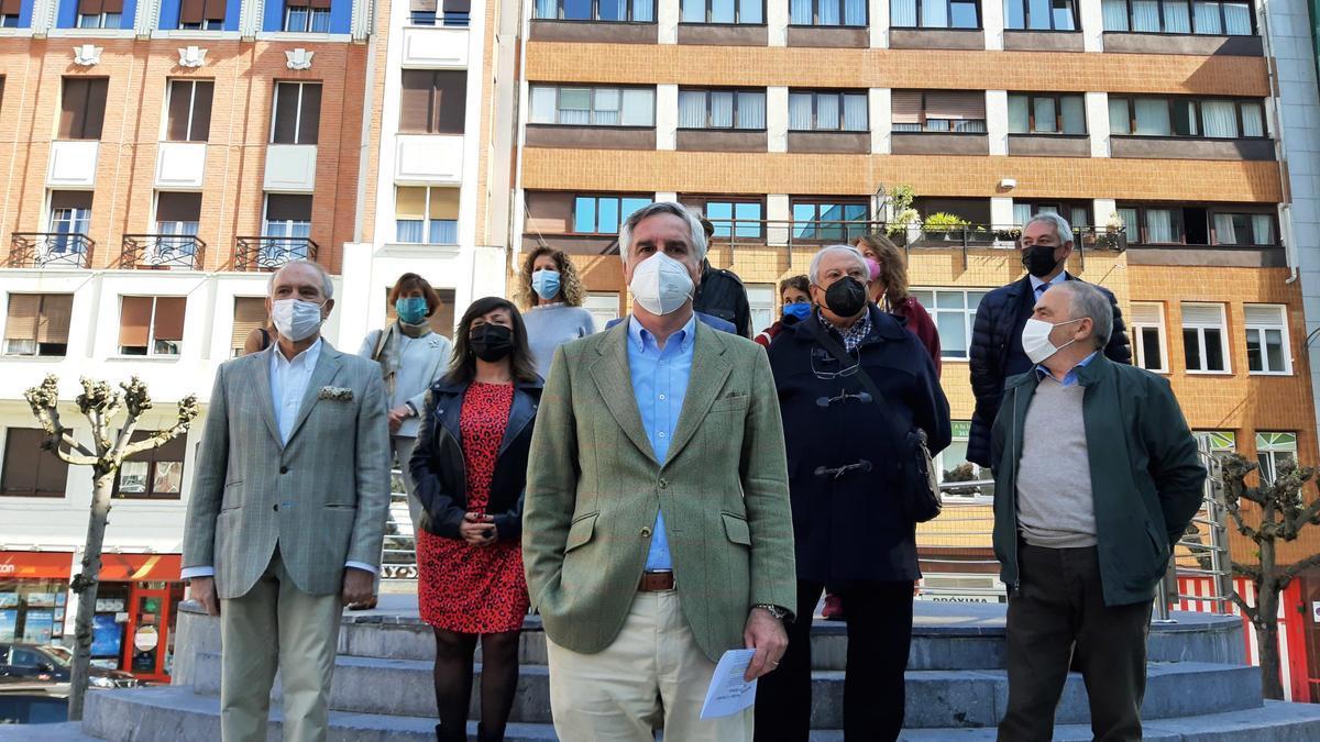 Luis Eguiluz durante la presentación de su candidatura este miércoles en Bilbao