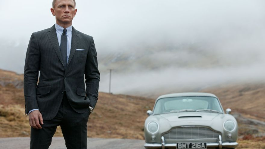 El actor Daniel Craig en el papel de James Bond