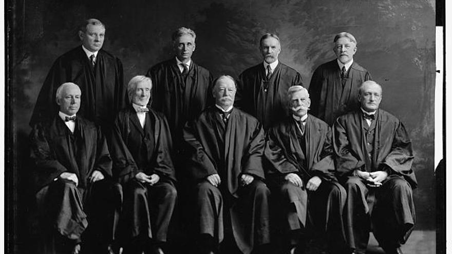 La Corte Suprema de EEUU, 200 años atrás