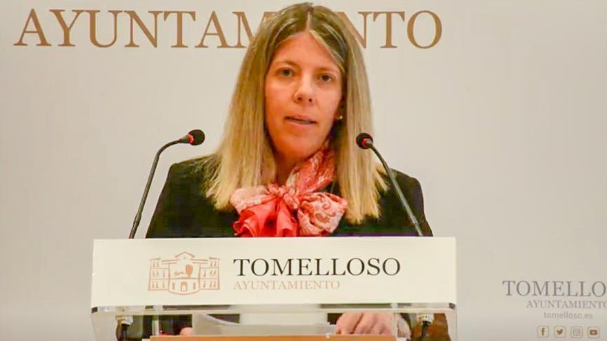 Inmaculada Jiménez, alcaldesa socialista en Tomelloso (Ciudad Real)