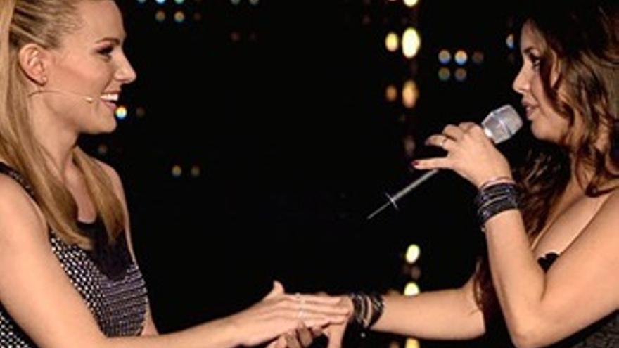 La ópera y el rock de Cristina se ganan el oro de Edurne en 'Got Talent'