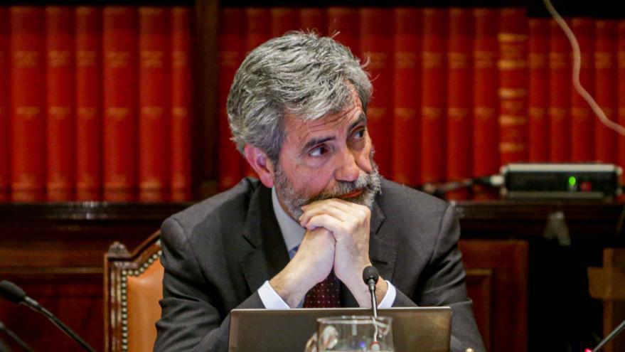 El presidente del Consejo General del Poder Judicial y del Tribunal Supremo (CGPJ), Carlos Lesmes