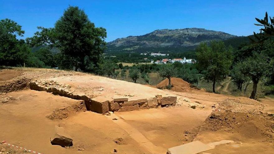 Descubren en la ciudad romana de Ammaia el quinto anfiteatro de la Lusitania