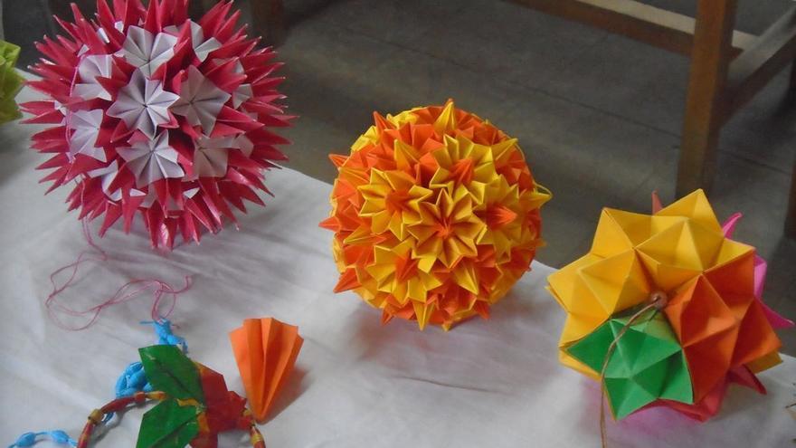 Figuras de origami. (Fernando del Rosal).