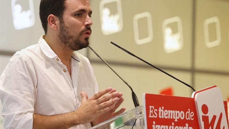 IU pide al PSOE voluntad para buscar un gobierno de izquierdas