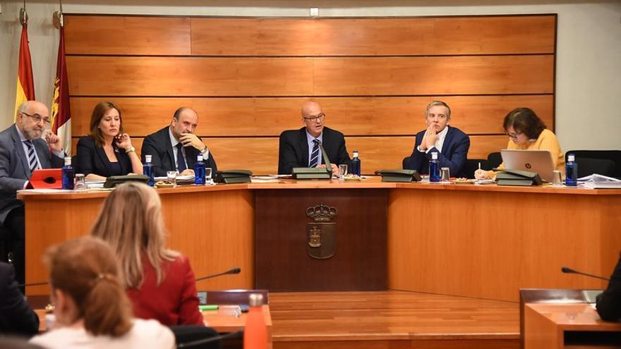 Comisión de Economía y Presupuestos de las Cortes de Castilla-La Mancha FOTO: JCCM