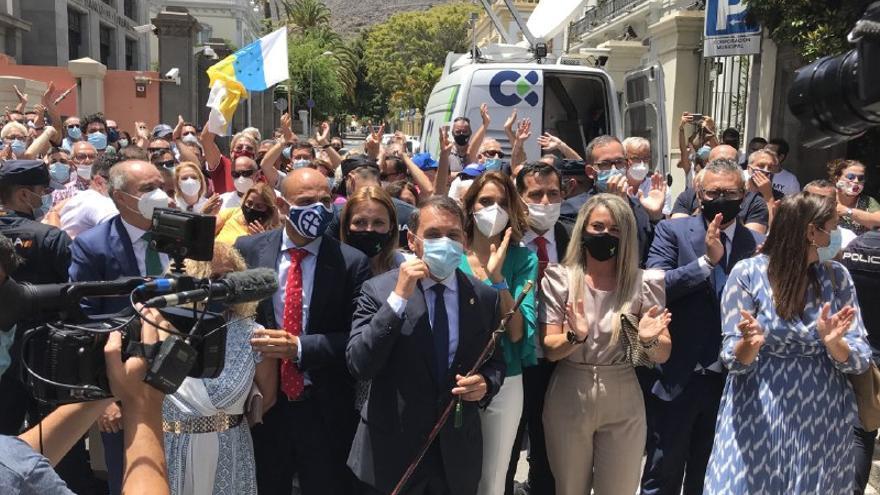 """El Ayuntamiento de Santa Cruz de Tenerife dice que la sentencia del Supremo sobre transfuguismo """"no afecta a la estabilidad del gobierno municipal"""""""