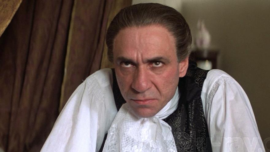 El odiado Salieri, eterno némesis de Mozart.
