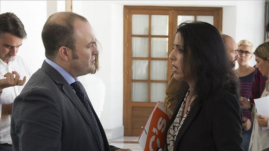 C's niega la vinculación de Julio Díaz con el abogado de una imputada en la formación