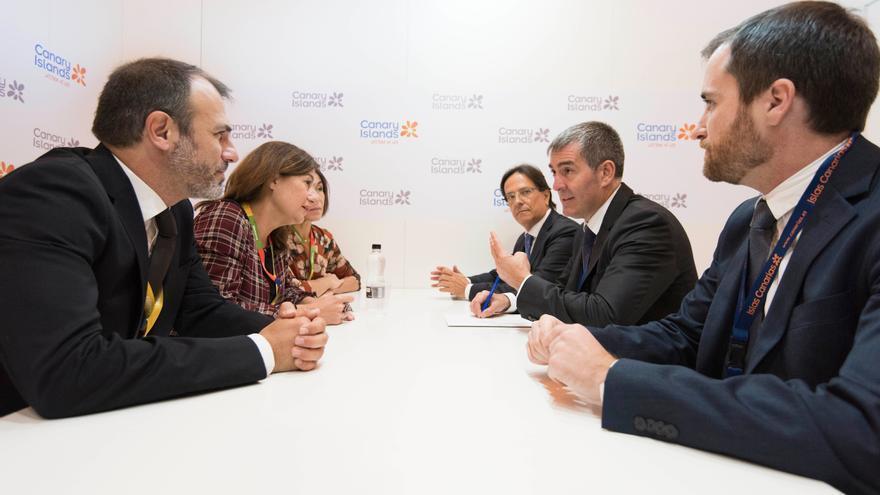 Reunión en Londres entre representantes del Gobierno de Canarias y de Baleares