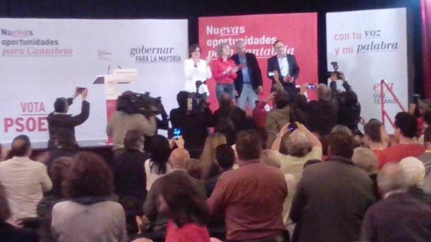 Díaz Tezanos asegura que el PSOE declarará la comarca del Besaya zona de reconversión industrial