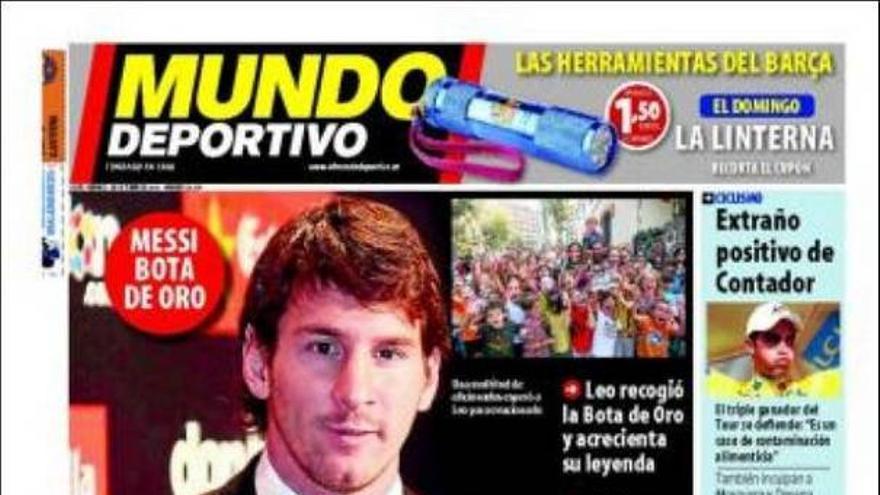 De las portadas del día (01/10/2010) #12