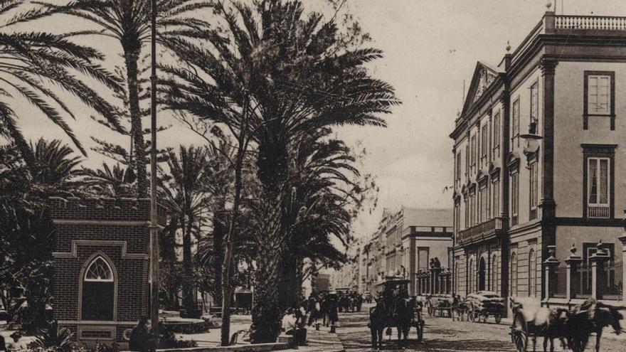 Gobierno militar, junto al parque San Telmo, 1905.