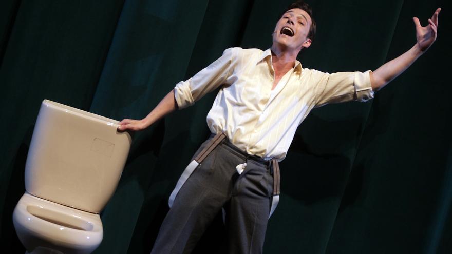 'Mierda de artista' se estrena en los Teatros del Canal y después irá al Grec de Barcelona / Jaime Villanueva