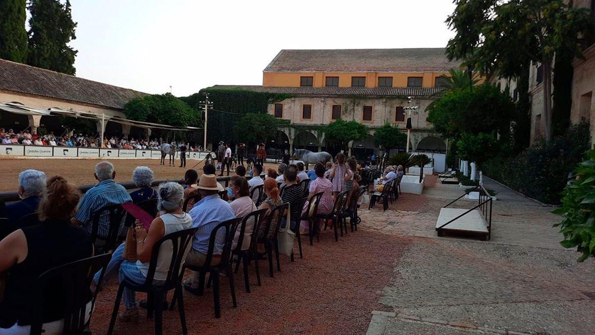 Uno de los espectáculos de Córdoba Ecuestre.