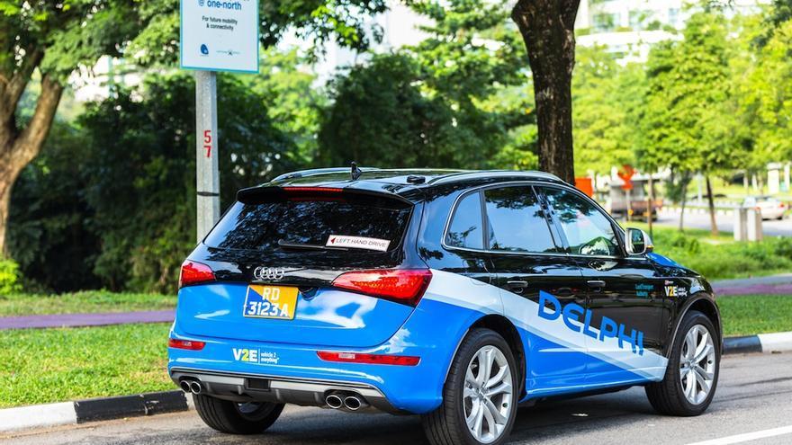 Delphi en Singapur, ha elegido a Audi como plataforma, aunque se encuentra largamente vinculada a General Motors