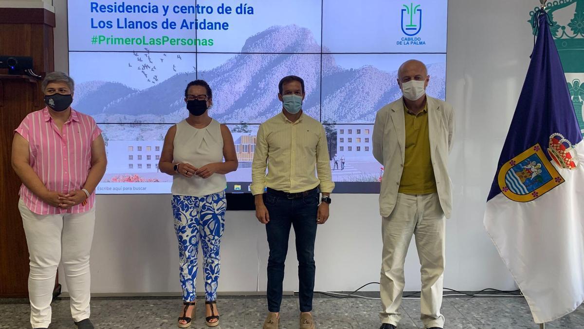 Presentación del proyecto de la Residencia y Centro de Estancia Diurna en Los Llanos de Aridane.