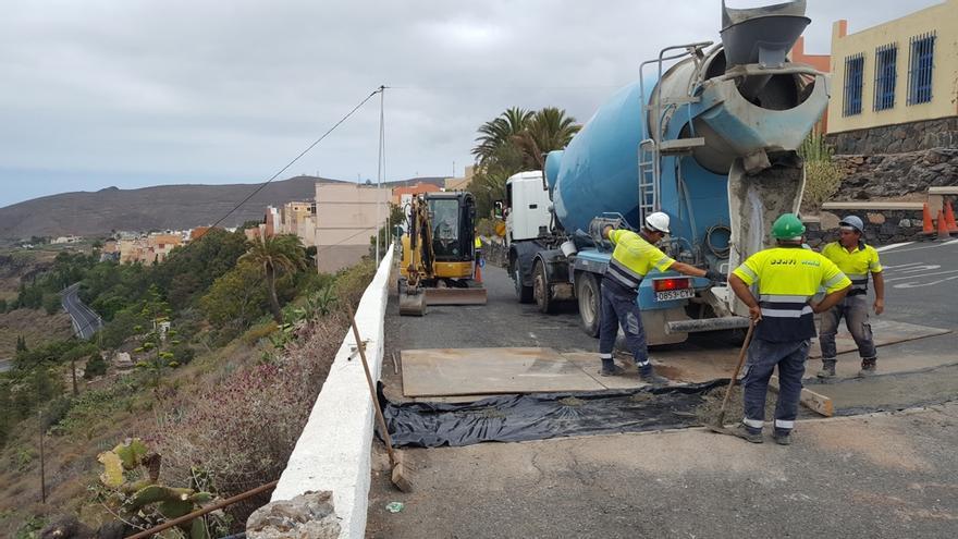 Los caminos e infraestructuras rurales de Gran Canaria contaron con 2,2 millones para reformas y mejoras.