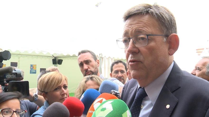 """Puig cree que los problemas a los que se enfrenta el PSOE """"no es una cuestión de nombres"""""""