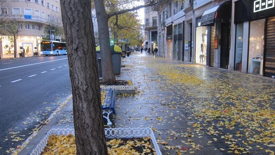 Imagen de archivo de un día de otoño