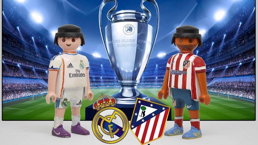 I love Real Madrid-Atlético Madrid