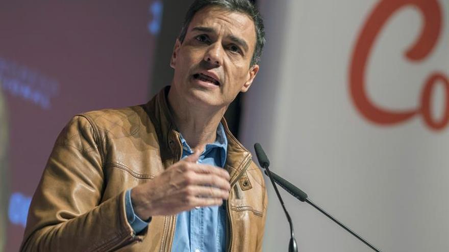 Pedro Sánchez proclama que la solución al problema catalán no está en la vía penal