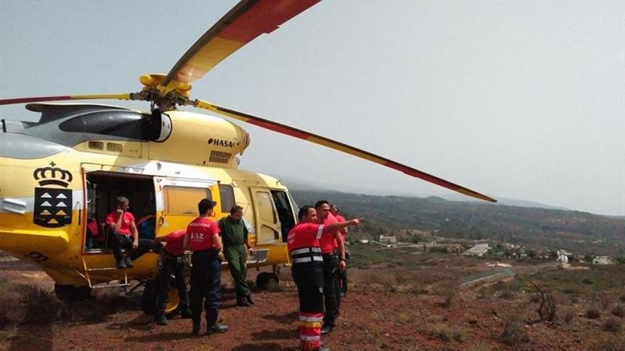 Helicóptero del Gobierno de Canarias (GES)