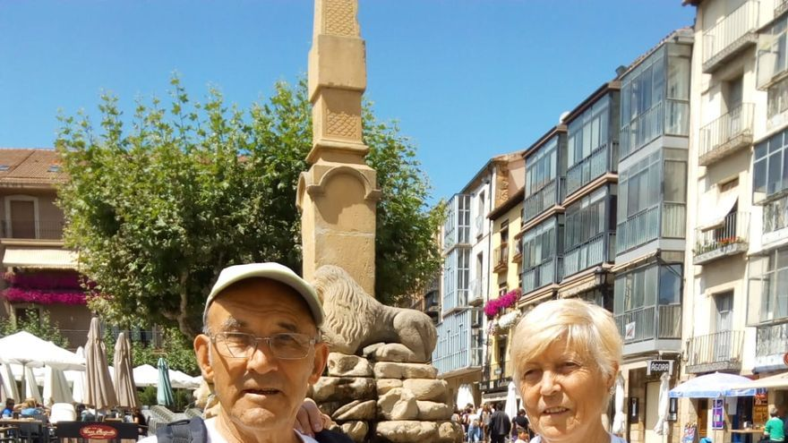 Juan Antonio y Caty en una foto proporcionada por ¡Soria YA!