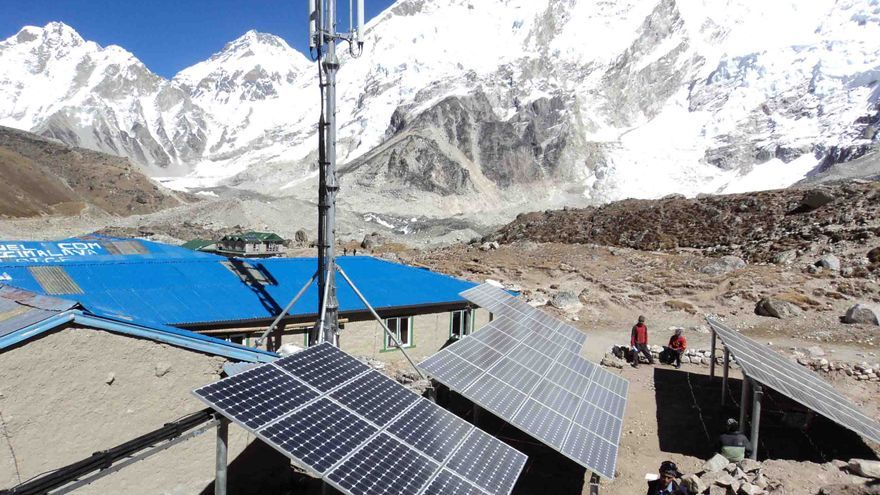 Toda la instalación de NCell se alimenta de energía solar