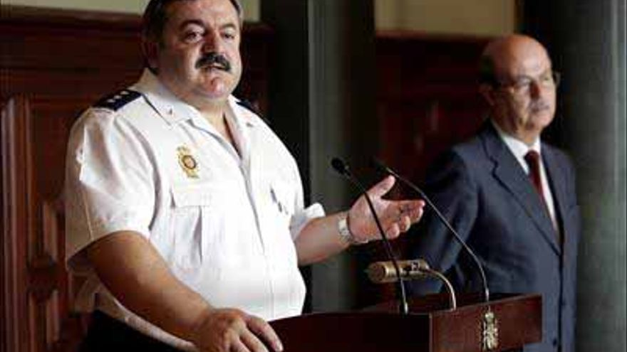 El ex jefe superior de Policía de Canarias, Narciso Ortega, en una imagen de archivo.