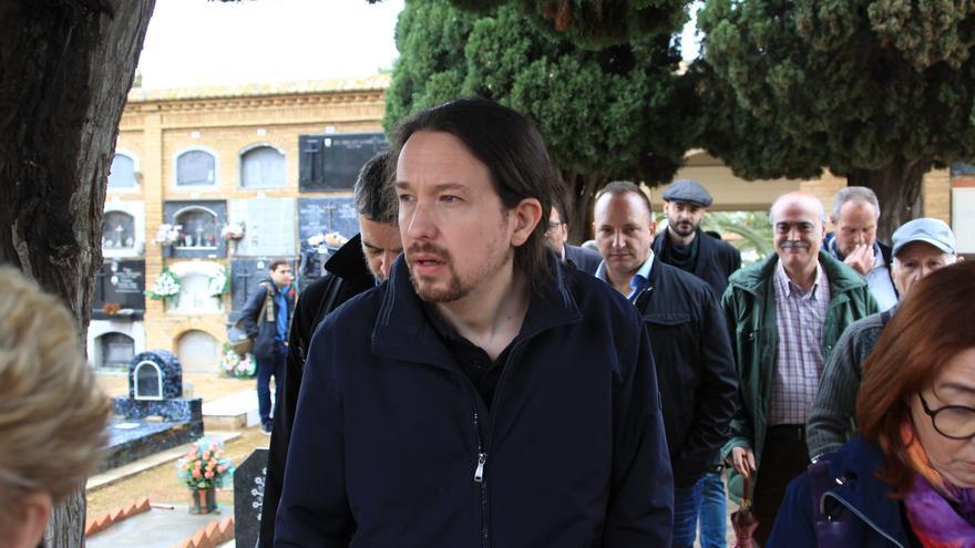 Pablo Iglesias anuncia que en caso de llegar al Gobierno indultará al hombre detenido por ayudar a morir a su mujer