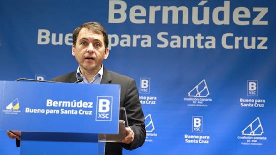 El alcalde de Santa Cruz de Tenerife, José Manuel Bermúdez./ Cristóbal García (EFE)