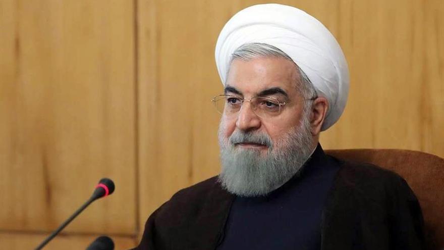 Rohaní dice que no hay que permitir que un solo país socave el pacto nuclear
