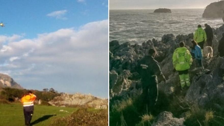 Se busca a un pescador desaparecido anoche en Islares Islares