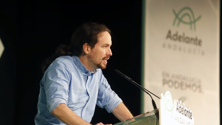 """Iglesias anima a Ciudadanos a poner """"encima de la mesa"""" un pacto alternativo sin Vox ni PP en Andalucía"""