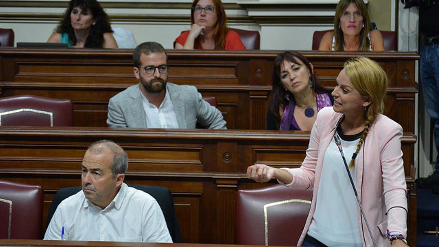 Grupo de Podemos en el Parlamento de Canarias