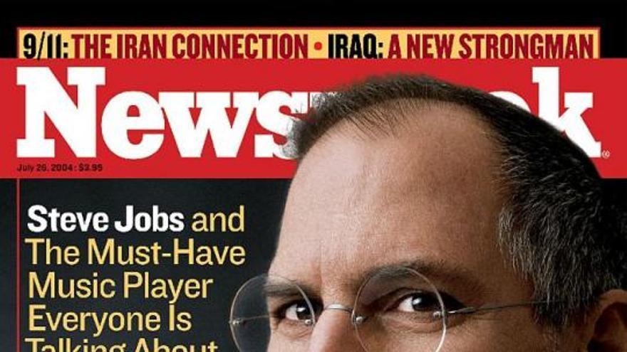 Portada de la revista 'Newsweek' tras el escandaloso éxito del iPod