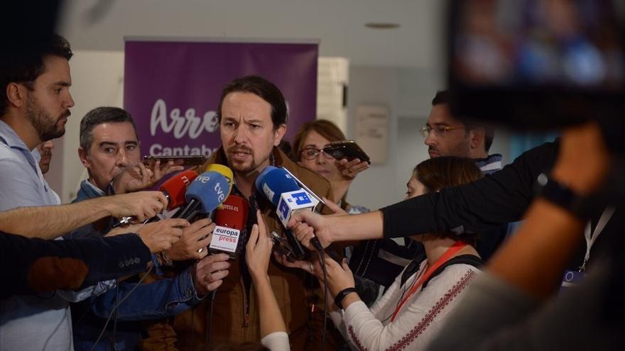 """Iglesias rechaza la prisión para Junqueras y exconsejeros: """"Me avergüenza que en mi país se encarcele a opositores"""""""