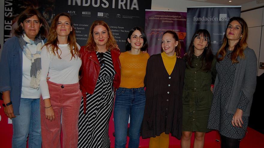 Remedios Málvarez, Laura Hofman, Vanesa Benítez, Celia Rico, Laura Alvea, Carmen Blanco, Paola García Costas