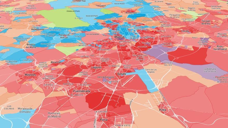 El 'cinturón rojo' del sur de Madrid, tras los resultados del 28A