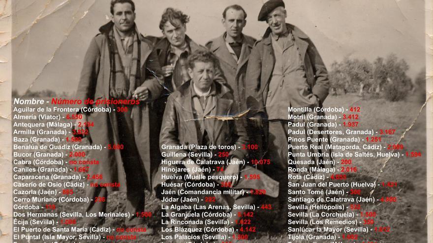 Campos de concentración y trabajo forzado en Andalucía (1936-1956) / RMHSA (CGT).