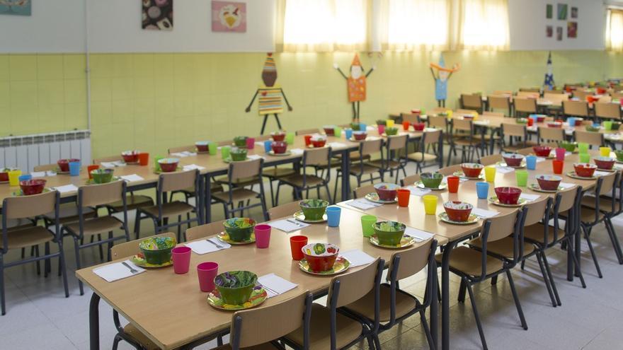 Autorizados 5,7 millones para el servicio de comedor escolar en 72 centros docentes públicos
