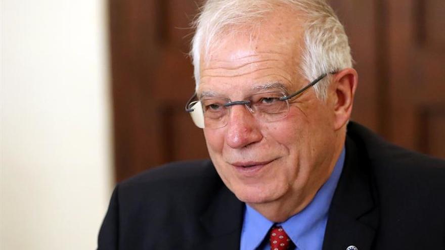 """Borrell pide """"preservar la unidad de acción"""" de UE en respuesta a Venezuela"""