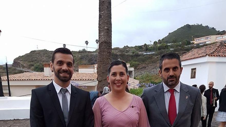 Concejales del Grupo Socialista en el Ayuntamiento de Villa de Mazo.